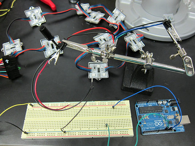 Connecting LED Pixels to Arduino