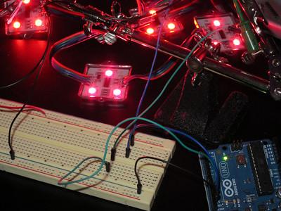 Testing LED Pixels