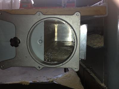 Custom Table Saw Dust Plenum