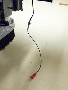 Banana plug connected to original Z-Zero cable