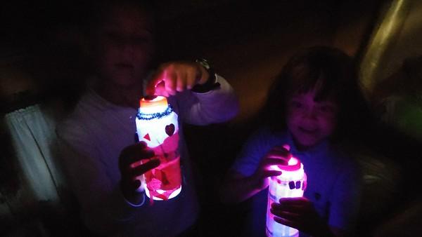 2nd Grade Creates LED Night Lights