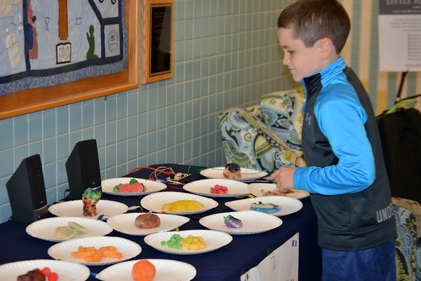 2nd Grade Creates French Speaking Food