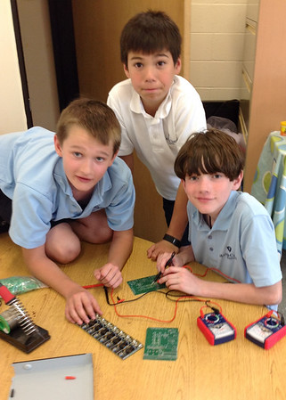 MCS Robotics Club Hacks Electronics