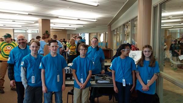 Mater Christi School's FIRST Team