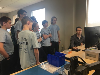Robotics Team visit to Logic Supply 2018