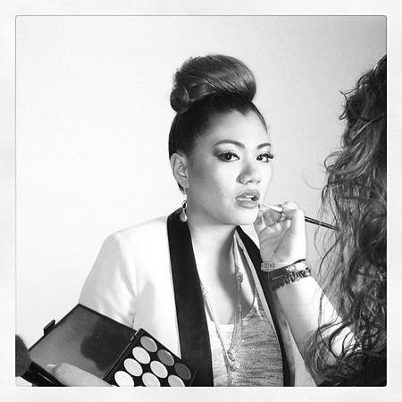 Photo: Kim's iPhone