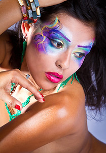 Model: Jessica Franco Makeup: Ande Castaneda Photographer: Todd Powers Set & Assistant: Jen Raven