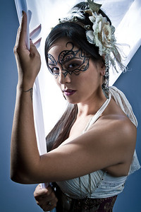 Model: Scarlett Reign Makeup: Ande Castaneda Photographer: Todd Powers Set & Assistant: Jen Raven Wardrobe: Scarlett Reign