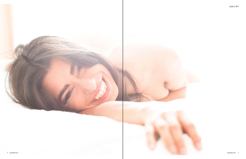 Model: Berlin Makeup & Photography: Ande Castaneda Published Icing Magazine