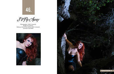 Model: Devin Riane Hair, Makeup & Photography: Ande Castaneda Assistant: Lani Helm Published in Gothesque Magazine