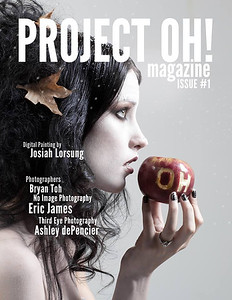 Project Oh! Magazine Cover No Image Photography Model: Erica Morgan Hair by Sarah Duke Makeup by Ande Castaneda