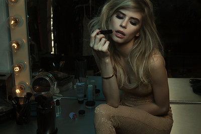Model: Carlson Young Makeup: Ande Castaneda Hair: Anthony Cress Photo: Isaac Alvarez Styling: Ali Levine