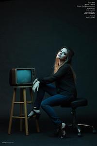 Model: Lauren Mungo Hair and Makeup: Ande Castaneda Photo: Isaac Alvarez Published in Bitmap Magazine