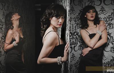 Model: Christina Gray Makeup: Ande Castaneda Hair: Jacob Hernandez Photo: Photos by Amalu