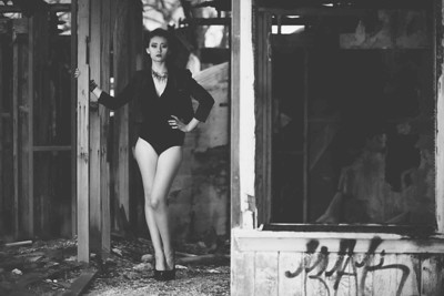 Model: Christina Gray Makeup: Ande Castaneda Photographer: Bryan Toh Published in Project Oh! Magazine