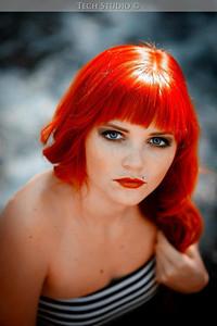Model: Micah Leann Makeup: Ande Castaneda Photo: Tech Studio