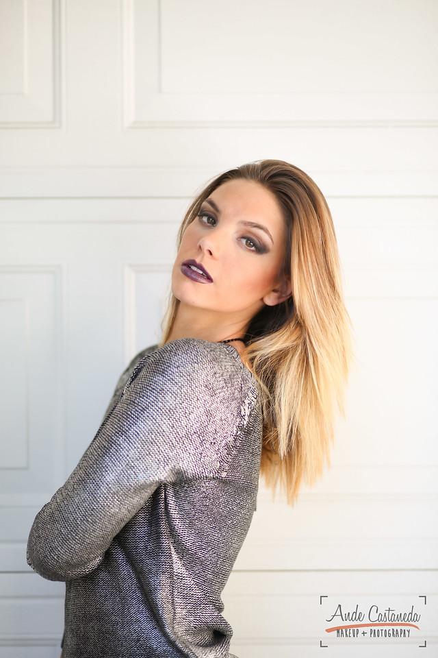 Model: Chelsea Heath Makeup & Photo: Ande Castaneda Wardrobe: Jin N Tonic