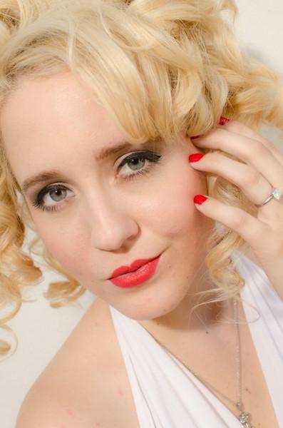 Model: Devin Riane Makeup: Ande Castaneda Hair by Sarah Duke Photo: HTR Images