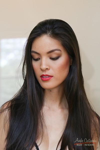 Model: Isabelle Du Makeup & Photo: Ande Castaneda