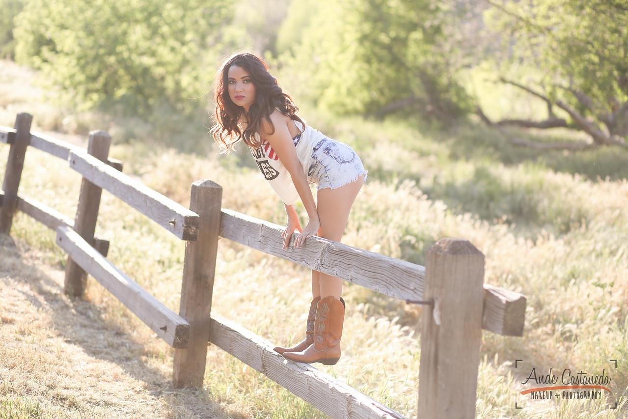 Model: Sarah Alysse Hair, makeup & photo: Ande Castaneda