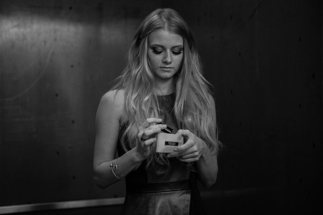Photographer: Nick Karagozian//Model: Alena Savostikova//Hair and makeup: Ande Castaneda//Wardrobe: Venia Collection