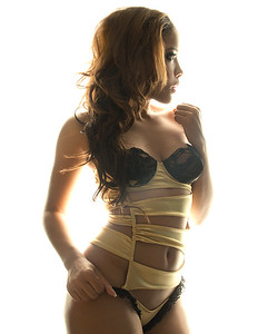 Model: Brooklynn Chanel Hair and makeup: Ande Castaneda Photo: Victor JM Photo Lingerie: Porscha Starr
