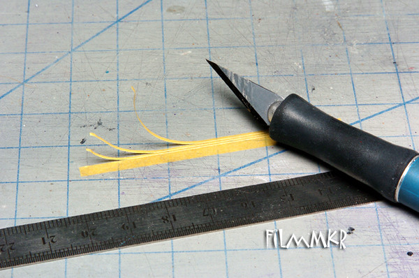 That's not to say that you can't make your own micro-thin tape strips, though. Just break out the Tamiya tape, a straightedge, and put a fresh #2 blade in your trusty Xacto!
