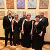 From left, Jason Woodland of Burlington, Molly, Mary and Bill Bennett, all of Chelmsford, and Ray and Paula Leavitt of Tyngsboro