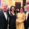 Dr. George and Ritsa Meltsakos, and Dr. George and Susan Potamitis, all of Andover