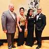 Dr. Mark and Stephanie Gilchrist of Chelmsford, and Dr. Anita and Raumil Shah of Burlington