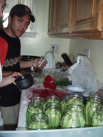 2006-08-05 Pickling Beets n Okra