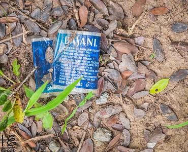 Dasani water label