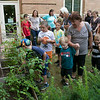 Kids got to learn about the ingredients that go into slasa before they made some themselves at the Leominster Public Library Wednesday, August 21, 2019. Kids got to pull some of the ingredients for their salsa from the libraries own garden. SENTINEL & ENTERPRISE/JOHN LOVE