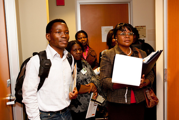 Malawi Fulbright Fellows' UCSF Visit