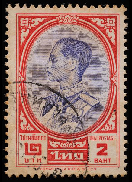 King Bhumibol Adulyadej (Rama IX), Thailand 1961