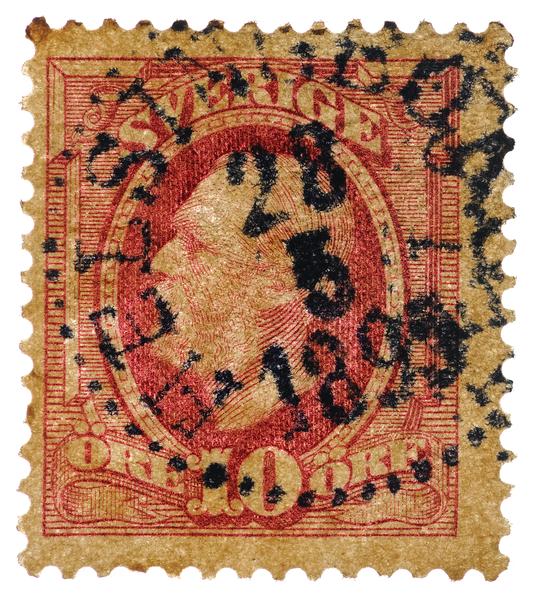 Sweden 1891 King Oscar II