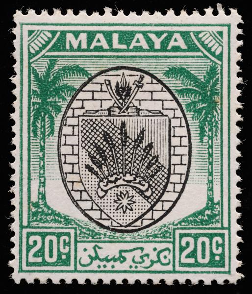 Malaya Negri Sembilan 20c