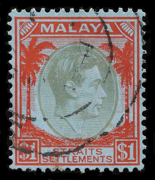 Malaya Straits Settlements KGVI $1 SG290