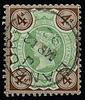 GB QV 1887 4d bicolour SG205