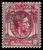 Malaya Japanese occupation Malacca Chop on Straits Settlements 10c stamp