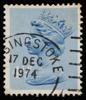 GB Machin definitive stamp October 24 1973