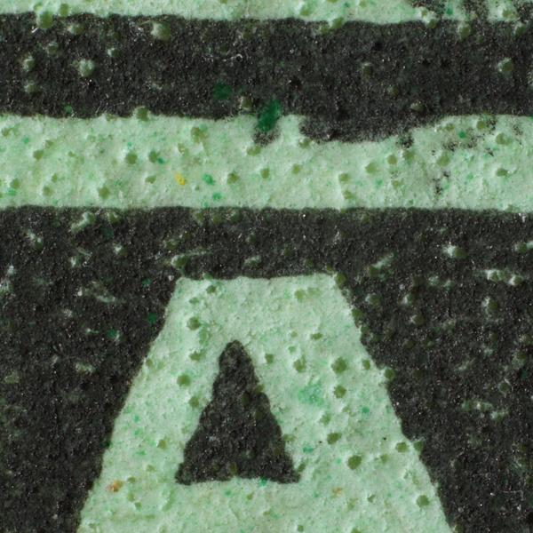 Malaya 1937-1941 Straits Settlements KGVI 50c green chalky paper pitting