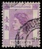 Queen Elizabeth II Hongkong 1954 10c