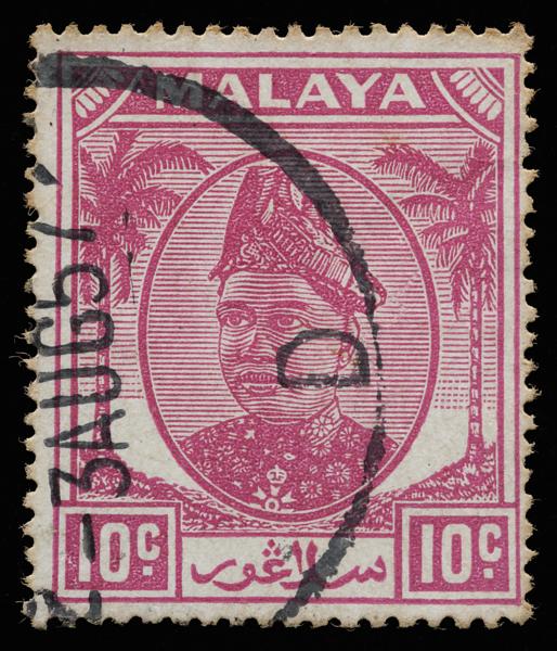 Malaya Selangor 1949 10c