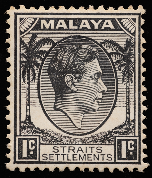 Straits Settlements King George VI 1937