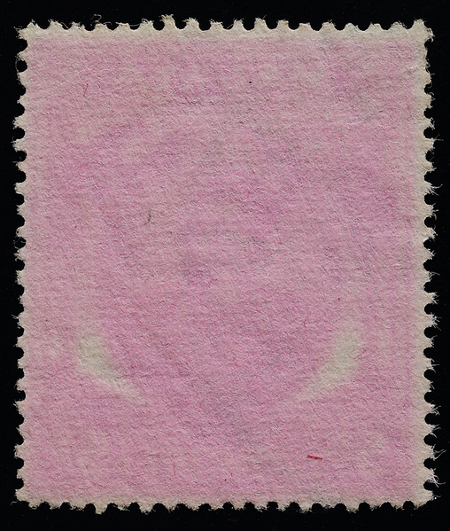 Malaya stamp small heads issue reverse aniline ink