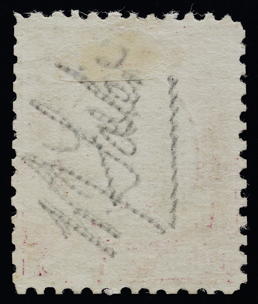 Singapore 1948 postal forgery reverse signature W.J. Foster?