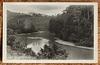 Malaya Pahang river scene postcard from British Empire Exhibition 1924
