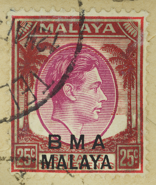 BMA Malaya 25c KGVI