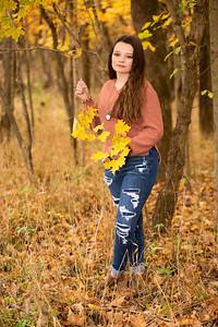Malayna Hickman Senior 2021-17